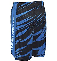 Under Armour Eliminator Printes Short Bambino, Blue Jet