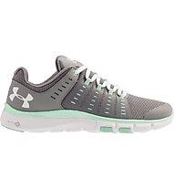 Under Armour Micro Limitless 2 W - scarpe da ginnastica donna, Grey