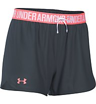 Under Armour Short UA Play Up Pantaloni corti fitness donna, Grey/Rose