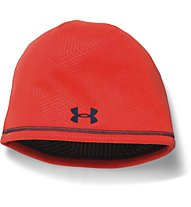Under Armour Beanie UA ColdGear Infrared Elements Storm 2.0 Berretto fitness, Bolt Orange
