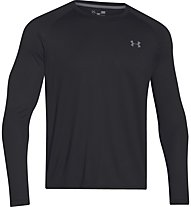 Under Armour Teh ls tee Maglia a maniche lunghe fitness, Black