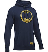 Under Armour Transform Yourself Batman Vintage Felpa con cappuccio fitness, Blue