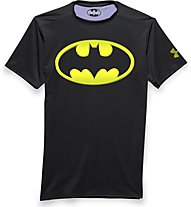 Under Armour Alter Ego Batman 2,0 Herrenshirt, Black/Sun
