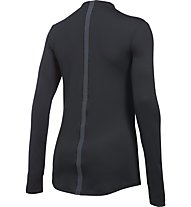 Under Armour UA ColdGear Armour Maglia a maniche lunghe fitness donna, Black