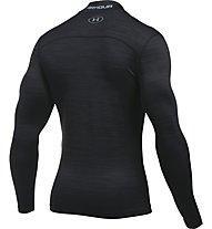 Under Armour Mock-Shirt UA ColdGear Armour Twist Kompressionsshirt Herren, Black