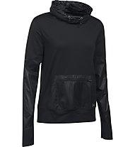 Under Armour UA Storm Hybrid Pullover - felpa running donna, Black