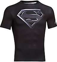 Under Armour Alter Ego Compression Shirt S/S, Superman (Black)