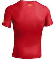 Under Armour Alter Ego Compression Shirt S/S, Red