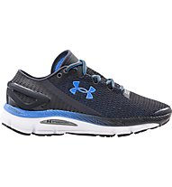 Under Armour W Speedform Gemini 2.1 - scarpe running donna, Grey/White