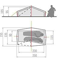 Vaude Power Lizard SUL 1-2P - Zelt