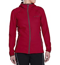 Vaude W Basodino Hooded Jacket II Giacca in pile donna, Red