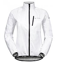 Vaude Women's Drop Jacket III Damen-Radjacke, White
