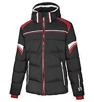 Vuarnet Giacca sci M-Catullo Jacket Man, Black/Red/White Sail