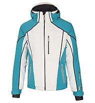 Vuarnet Giacca sci M-Lavit Jacket Man, White Sail/Turquoise/Black