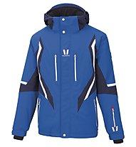 Vuarnet Giacca sci M-Mons Jacket Man, Ski Royal/Sail Navy/White Sail