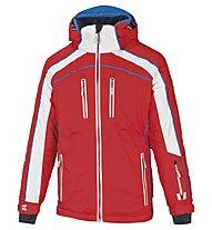 Vuarnet Giacca sci M-Privas Jacket Man, Red/White Sail/Ski Royal