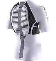 X-Bionic Speed Evo Man Shirt - maglia running, White/Black
