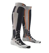 X-Socks Ski Radiactor Calze da sci, Silver/Anthracite