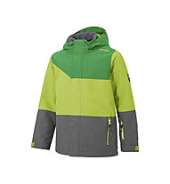 Ziener Agnolo Kinder-Skijacke, Grey Splash