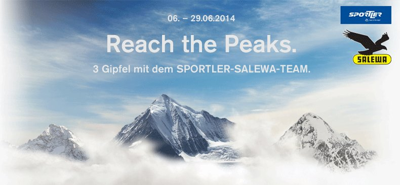 Reach the peaks